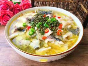 Green Sichuan Peppercorn Fish Step-16