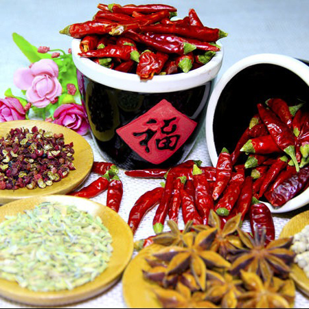 chinese dry spices and condiments
