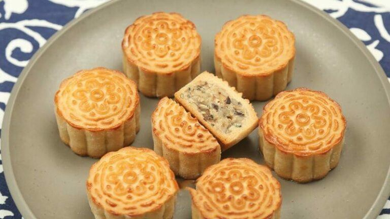 How to make five-ren mooncake? 4
