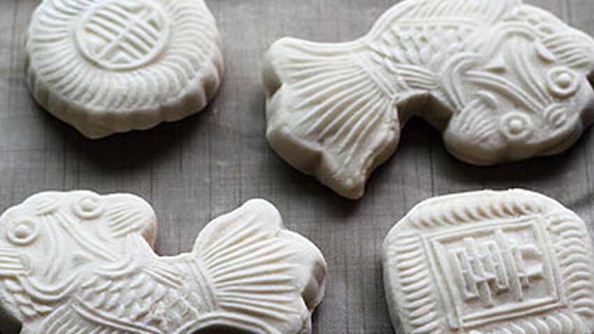 Chinese Qixi Festival Cake Recipe, 8 steps to make it