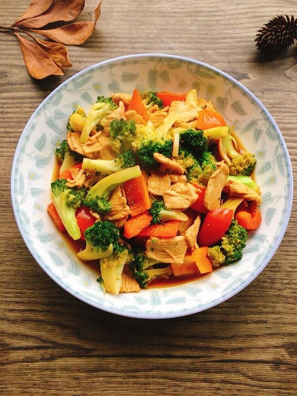 Broccoli Pan-Fry Chicken