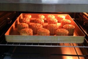 Coconut Cranberry Moon Cake Steps 26