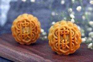 Coconut Cranberry Moon Cake Steps 28