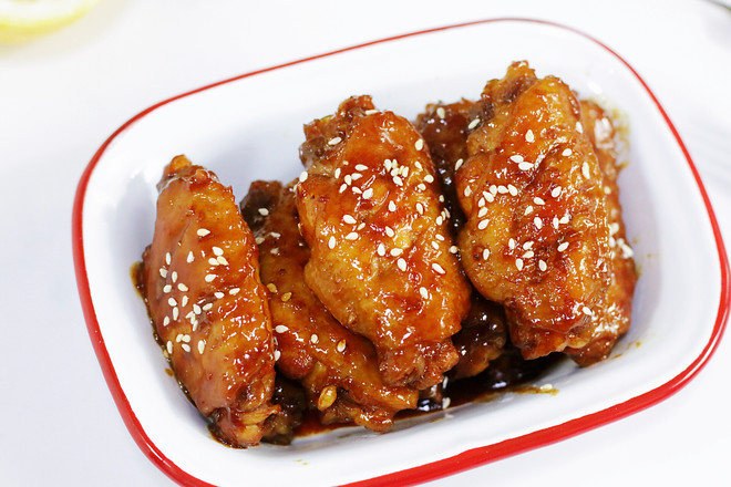 Chinese Honey Chicken Wings Recipe