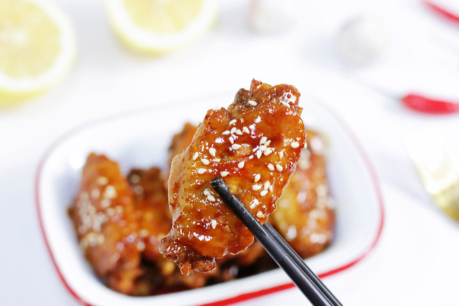 Honey Chicken Wings