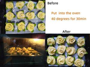 Rose Steamed Bread step8
